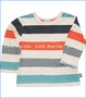 Splendid Littles, Striped Top w/ Pant Set in Multicolor