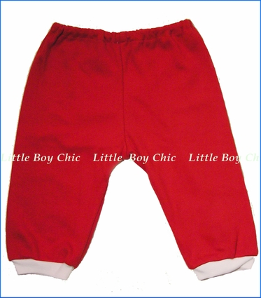 Tiny Bundles, Red Sweat Pants