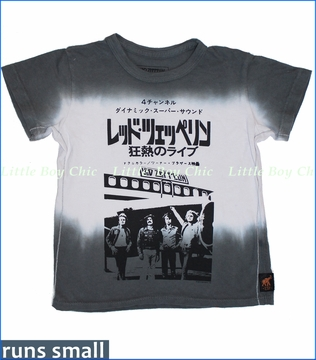 Trunk, Led Zeppelin Foreign Plane Tie-dyed Tee (c)