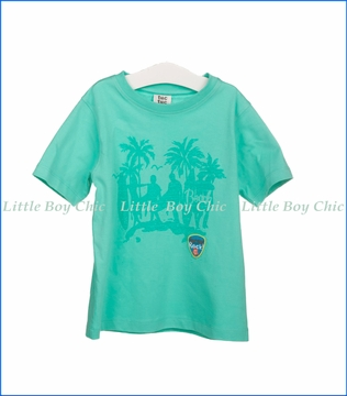 Tuc Tuc, Beachside T-Shirt in Turquoise