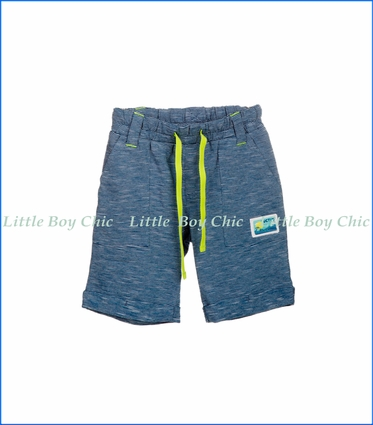 Tuc Tuc, Blue Coast Stripe Shorts in Blue