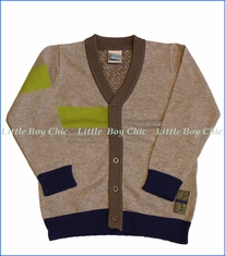 Tuc Tuc, Cardigan Knit  Sweater Urban in Grey