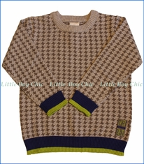 Tuc Tuc, Crew-Neck Knit  Sweater Urban in Grey