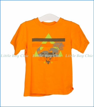 Tuc Tuc, Jungle T-Shirt in Orange
