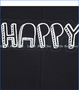 "Turtle Dove, Organic ""Happy"" Jeans Overalls in Black"