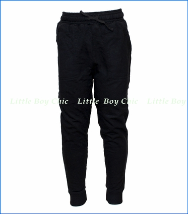 Wes and Willy, FT Pant With Cuff in Black