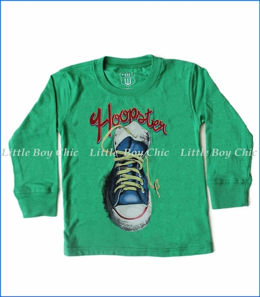 Wes and Willy, L/S Hoopster T-Shirt in Irish