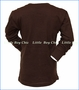 Wes and Willy, L/S Trains T-Shirt in Brown