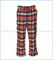 Wes and Willy, Plaid Pant in Orange