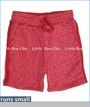 Wes & Willy, Blended French Terry Short in Cherry