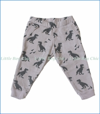 Wyldson, Dino Jogger Pants in Grey