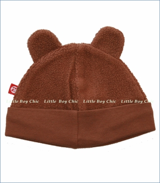 Zutano, Chocolate Fleece Hat (c)