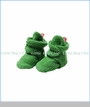 Zutano, Cozie Fleece Bootie in Apple Green
