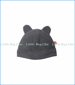Zutano, Cozie Fleece Hat in Grey