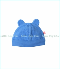 Zutano, Cozie Fleece Hat in Periwinkle Blue