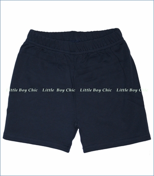 Zutano, Navy Solid Shorts