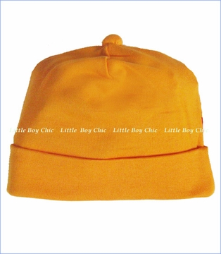 Zutano, Orange Solid Hat (c)