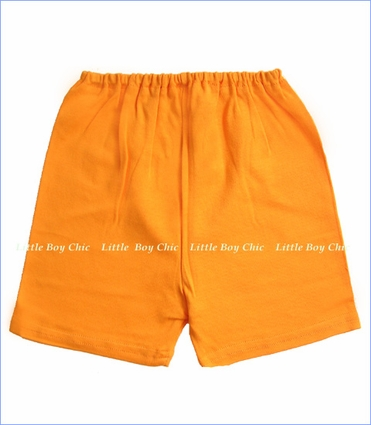 Zutano, Orange Solid Shorts
