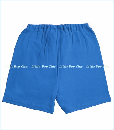 Zutano, Periwinkle Solid Shorts