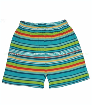 Zutano, Pool Multi Stripe Shorts (c)