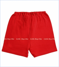 Zutano, Red Solid Shorts