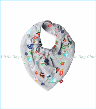 Zutano, Space Kiddet Bandana Bib in Grey