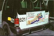 Livery Van Rear Ad Carrier