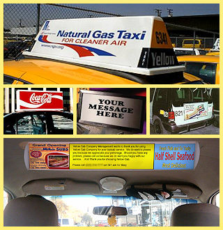 Andy's Top Lights and Signs for Taxis, Hotel and Shuttle