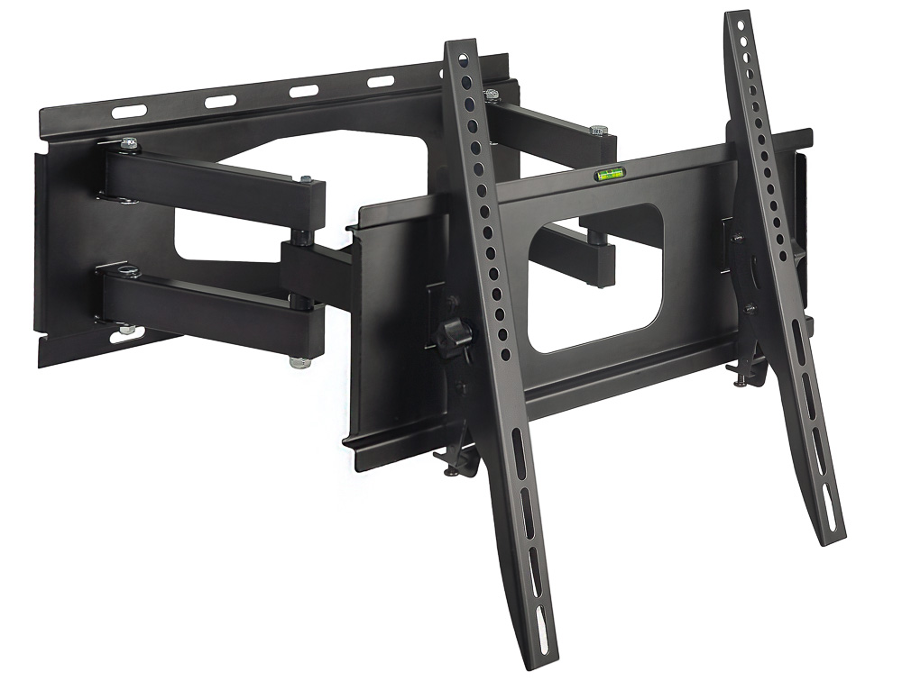 articulating full motion swivel tv wall mount vesa 600 x 400 mm max adjustments led lcd flat. Black Bedroom Furniture Sets. Home Design Ideas
