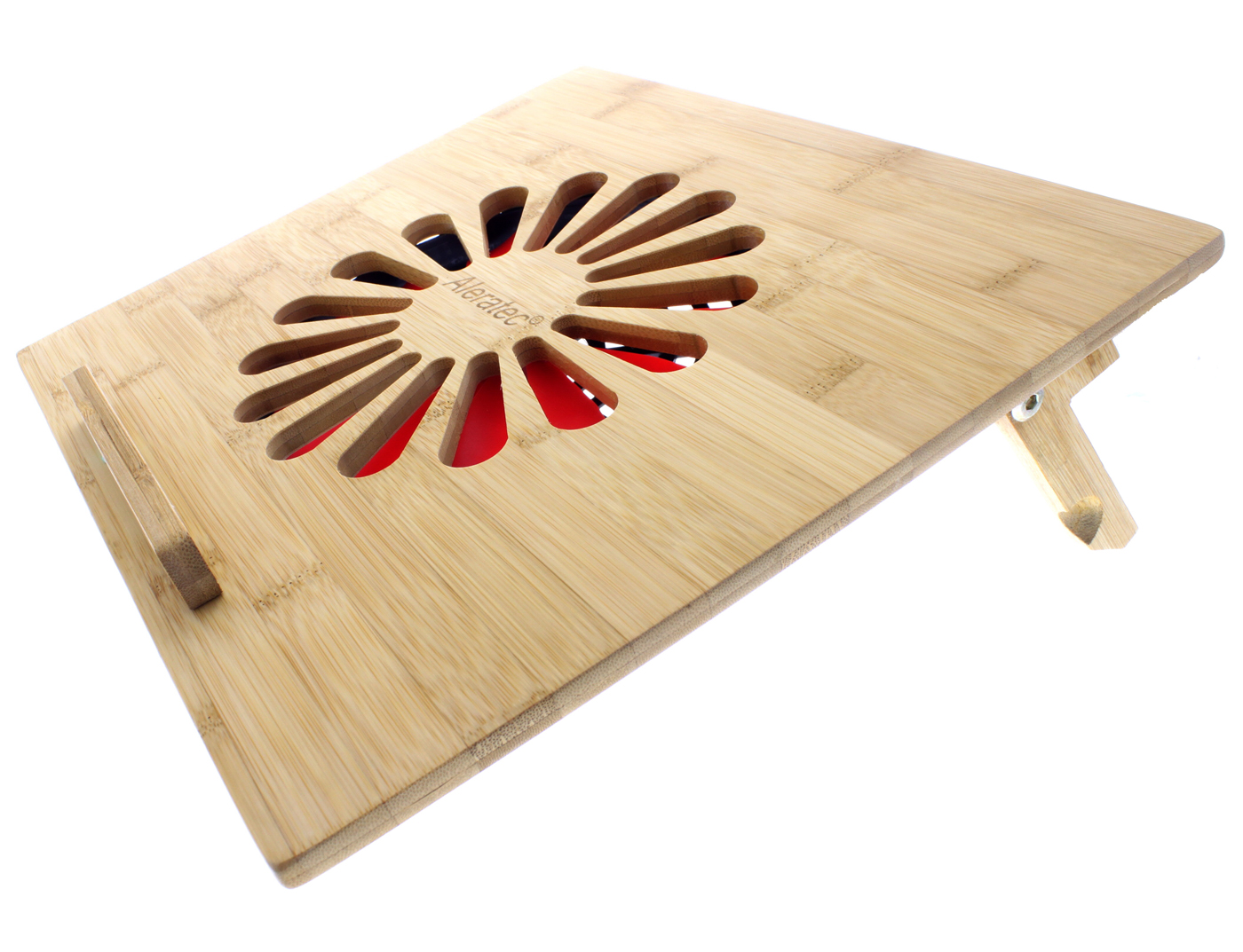 Laptop Table With Fan - Laptop table with fan eco friendly bamboo cooling vented laptop desk table stand with fan