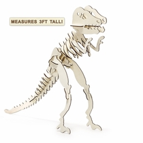 Giant T-Rex 3D Wooden Jigsaw Puzzle for Children Ages 3+