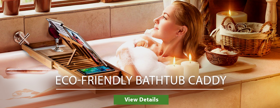 Eco-Friendly Bathtub Caddy