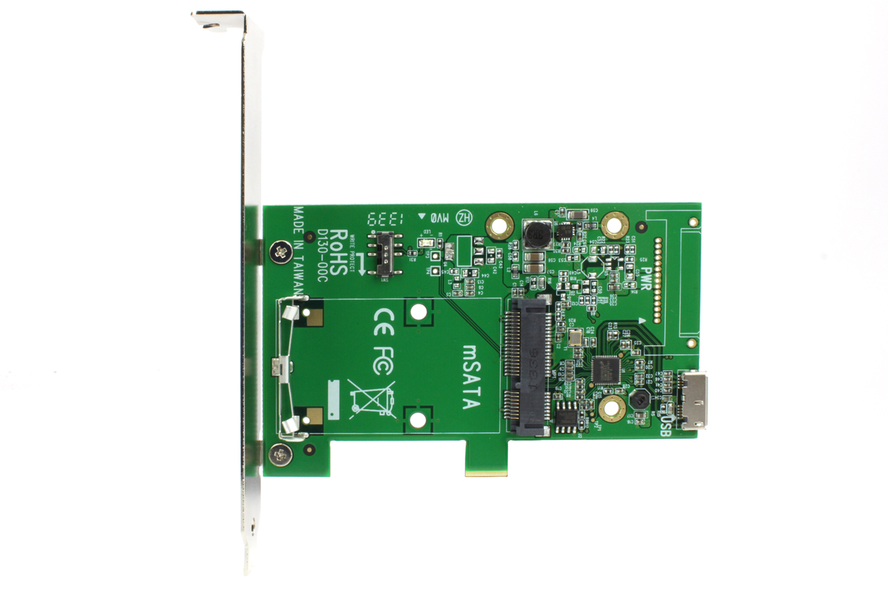 Latch and Retain mSATA SSD 7mm 2.5 inch Drive Frame to USB 3.0 or ...