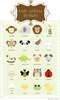 Animal Theme Luggage Tags (20 Different Designs)