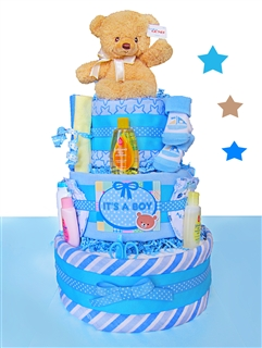 Baby Bear 3 Tier Cake For Boys