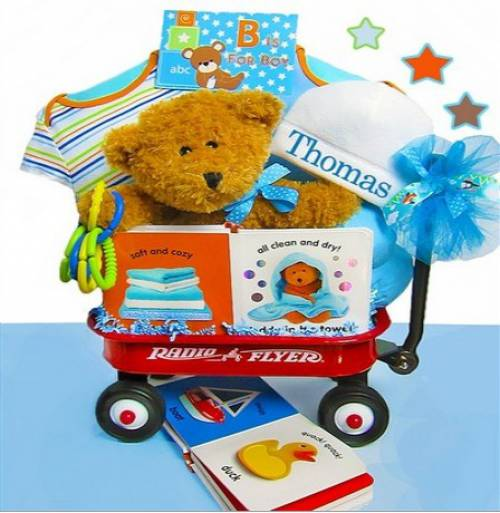 Unique baby gifts over 1150 baby gifts at simplyuniquebabygifts baby boy first teddy bear gift set negle Gallery
