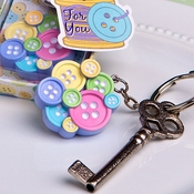 Baby Buttons Key Chain