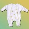 Baby Ducks Drawstring Sleep Gown