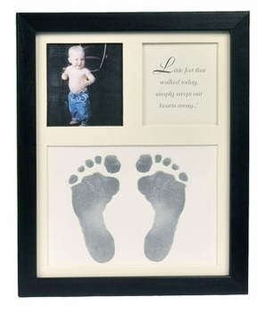 Baby Footprints Keepsake Frame
