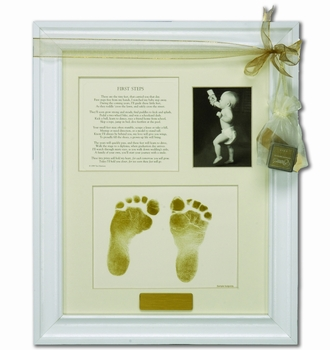 Baby's First Steps Photo Frame