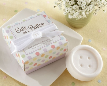 Button Shaped Scented Soap