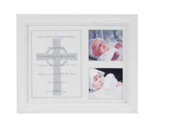 Christening or Baptism Keepsake Frame