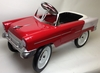 Classic Steel Pedal Power Vintage Muscle Car in 4 Colors