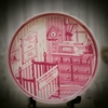 Custom Baby Birth Day Plate (Pink or Blue)