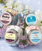 Customized Glass Goody Jars