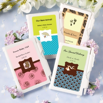 Customized Notebook Favors With Pen