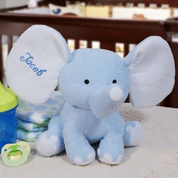 Personalized Elephant Stuffed Animal