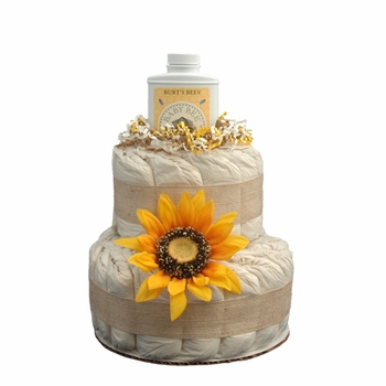 Eco Friendly Diaper Cake