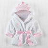 Embroidered Baby Princess Bath Robe
