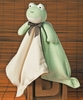 Embroidered Bamboo Frog Blanket